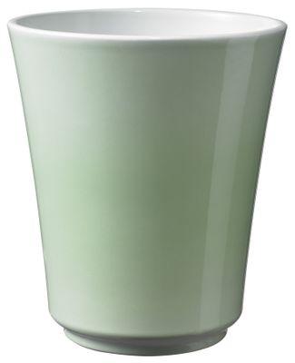 Atlanta Pastel Ceramic Pot Shiny Soft Green (15cm)