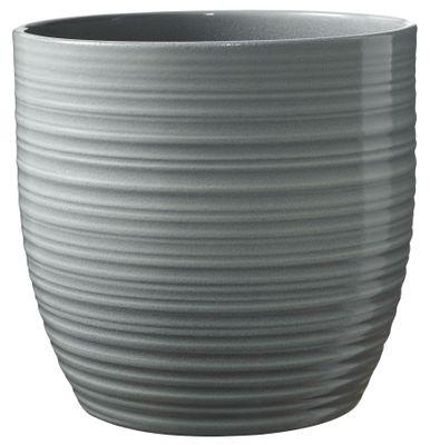 Bergamo Ceramic Pot Mint Green Glaze (14cm)