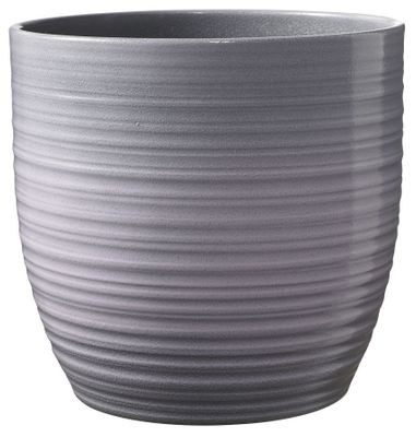 Bergamo Ceramic Pot Lavender Glaze (14cm)