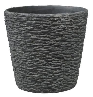 Dayton Ceramic Pot Slate Black (26cm)