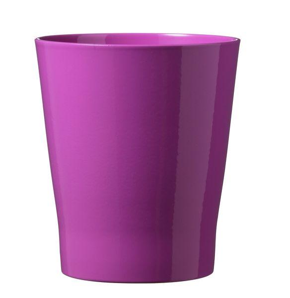 Merina Candy Ceramic Pot Shiny Candy Pink (14cm)