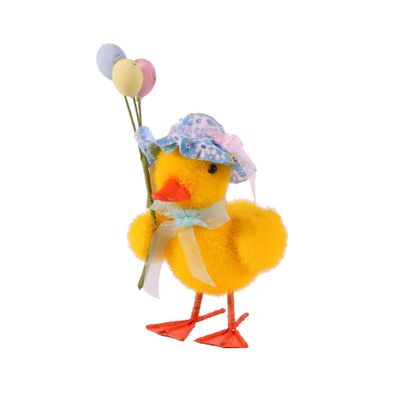 Display Duckling with Balloons 8.5x11.5x20