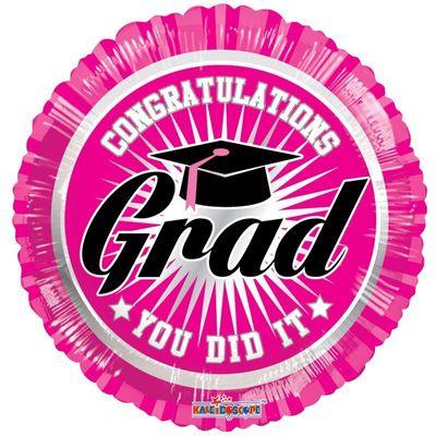 Congratulations Grad Pink (18 Inch)
