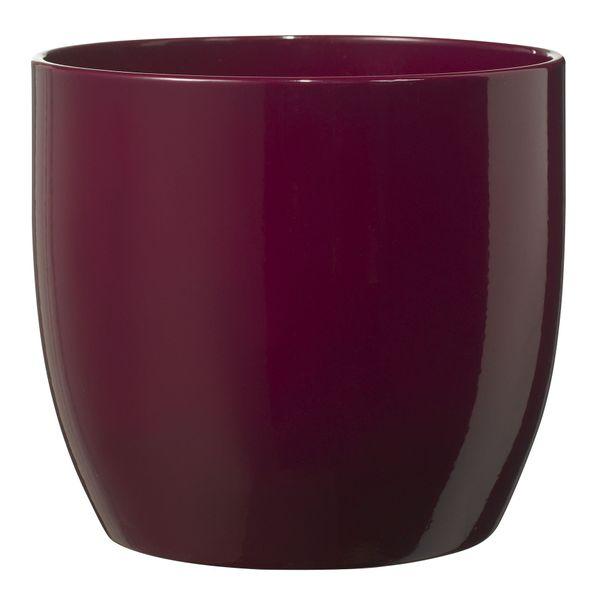 Basel Fashion Pot - Shiny Cyclamen (27cm x 26cm)