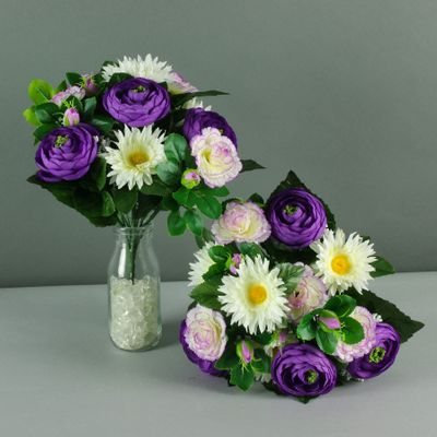 mixed pretty bouquet purple X12