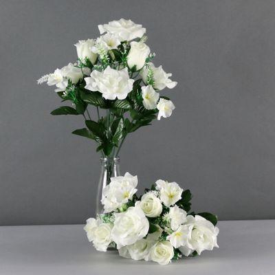 Rose mixed bush x12 cream