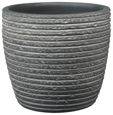 Porto Pot - Wiped Anthracite (19cm x 17cm)