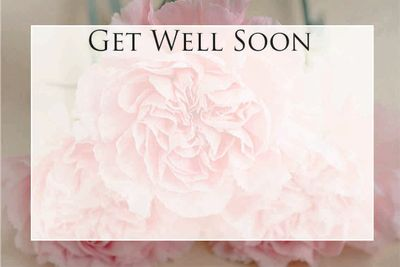 Get Well Soon Small Greeting Card (x50)