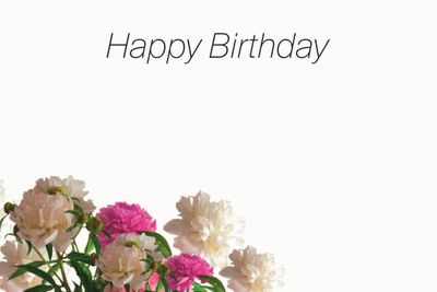 Happy Birthday Small Greeting Cards (x50)