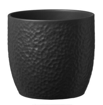Boston Ceramic Pot Matt Anthracite (16cm)