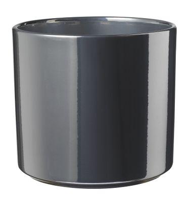 Las Vegas Pot -Shiny Silver (15 x 16cm)