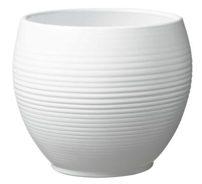 Manacor Pot - Matte White (16 x 13cm)