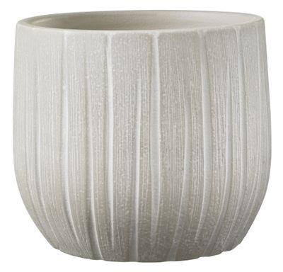 Ronda Pot - Cream Textured (17 x 16cm)