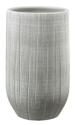 Ronda Vase - Gray-Beige Textured (18 x 30cm)