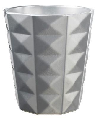 Kyoto Orchid vase - Shiny Silver (15 x 13cm)