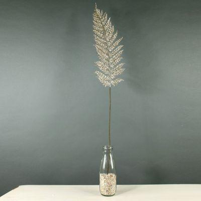 Glitter Large Fern Leaf (Champagne) (36/288)