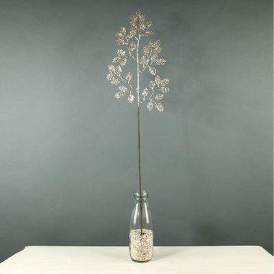 Glitter Pretty Leaf (Champagne) (72/576)