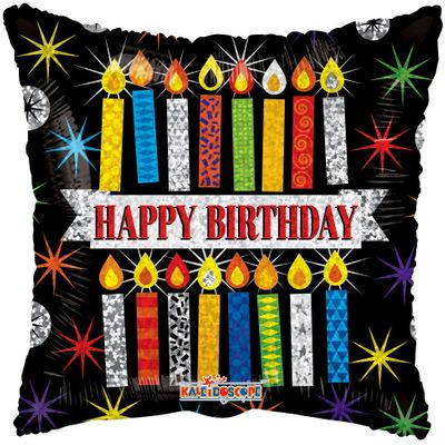 Happy Birthday Candles Balloon (18 inch)