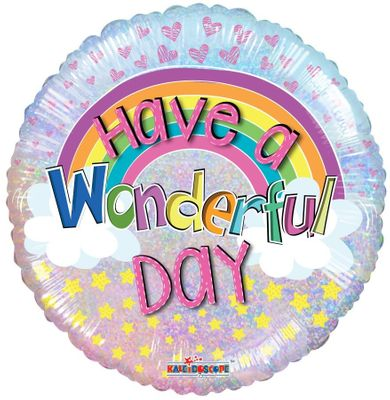 Have a Wonderful Day Balloon (18 inch)