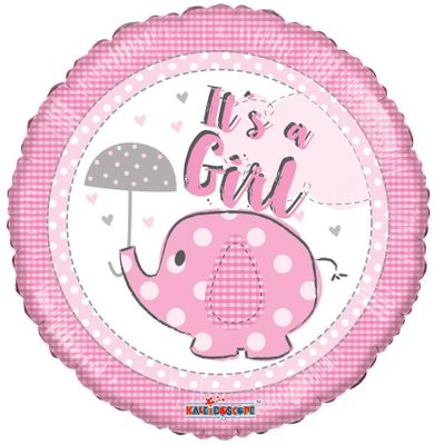 It�s a Girl Elephane Balloon (18 inch)