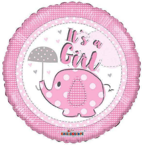 It�s a Girl Elephane Balloon (18 inch)