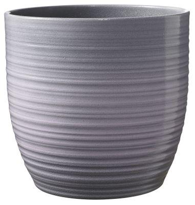 Bergamo Ceramic Pot Lavender Glaze (13cm)