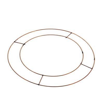"10"" Flat Wreath Frames Pk20 BCD (5/30"
