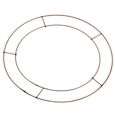 "12"" Flat Wreath Frames Pk20 BCD(5/20"