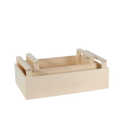 S/2 Wooden Crate (1/12)