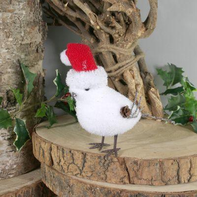 White Bird w/Santa Hat (M) (12/96)
