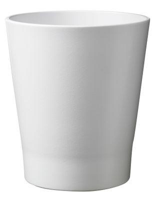 Merina Pretty Ceramic Pot Matte White (14x15cm)