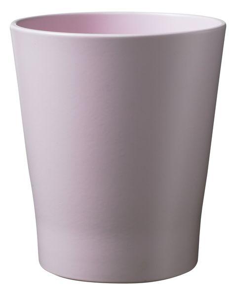 Merina Pretty Ceramic Pot Matte Light Rose (14x15cm)