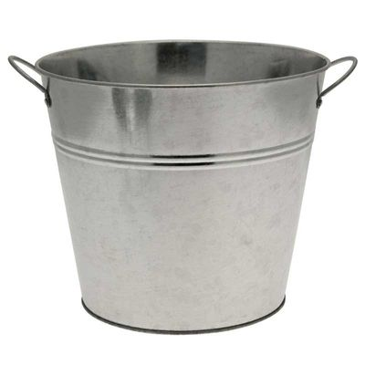 Galvanised Bucket 22cm with Ears
