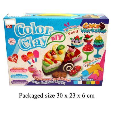 T19645 Myo Clay Food Set