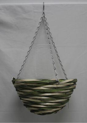 "12"" Willow Core Hanging Basket Green & Natural (20)"
