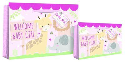 Baby Girl Jungle Gift Bag