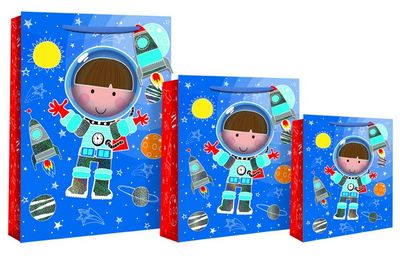 Spaceman Medium Gift Bag
