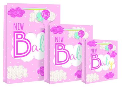New Baby Extra Large Gift Bag