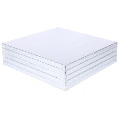 Silver Square Cake Board