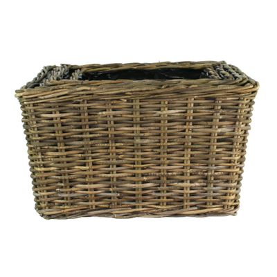 Brit Rectangular Basket Set of  4