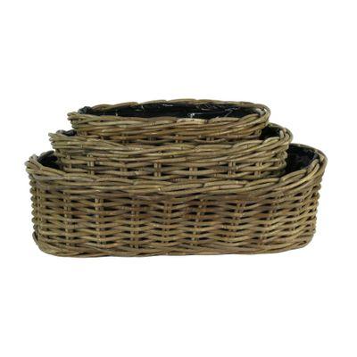 Fiona Oval Basket Set of 3