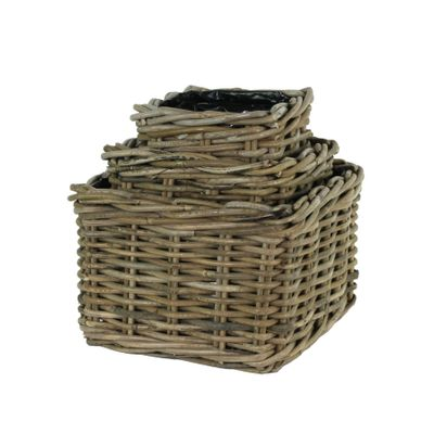 Katja Square Basket Set of 3