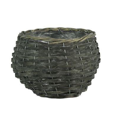 Round Grey Willow Basket (8)