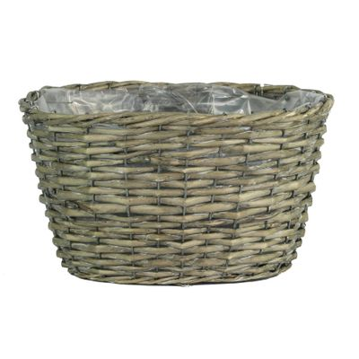 Oval Grey Willow Basket (18)