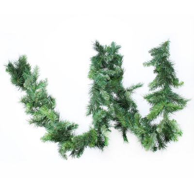 "9ft x 10"" Deluxe Evergreen Garland (180 Tips)"