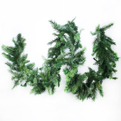 "9ft x 14"" Deluxe Evergreen Garland (210 Tips)"