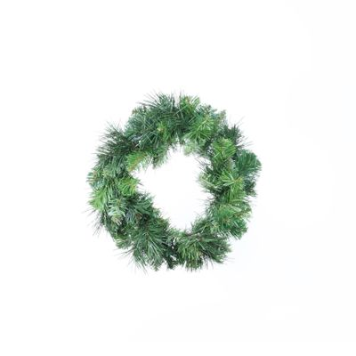 "12"" Deluxe Evergreen Single Wreath (60 Tips)"