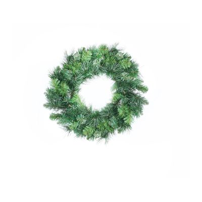 "16"" Deluxe Evergreen Single Wreath (80 Tips)"