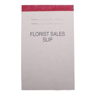 Florist Sales Slip Pad (100 Sheets)