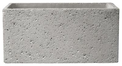 Latina Concrete Jardiniere Cement Light Grey 28cm